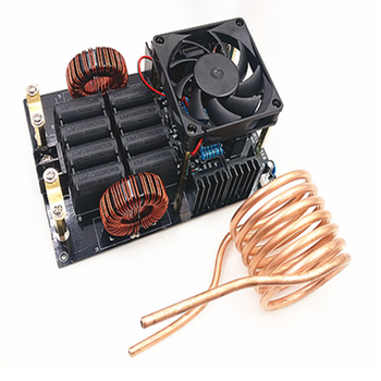 1000W 50A ZVS high frequency Induction Heating Board Module Heater DC12-40V with coil