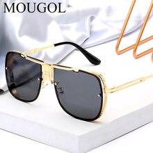 MOUGOL 2019 New luxury Fashion Frame Sunglasses Men Square Glasses for Women High Quality Retro Sun Vintage