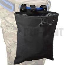 MOLLE-Bolsa de descarga táctica Mag, bolsa de recuperación con cordón, para reciclaje de revistas, equipo de caza Airsoft