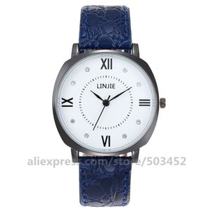 Image 5 - 100 ピース/ロット LINJIE カップル男と女性のホット販売しているシンプルな王と女王腕時計ファッション新スポーツ愛好家腕時計