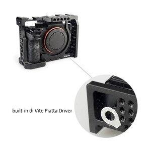 Image 2 - Magicrigdslr هيكل قفصي الشكل للكاميرا مع مقبض الناتو ورأس الكرة لسوني A7II /A7III /A7SII /A7M3 /A7RII /A7RIII طقم وصلة الرموش للكاميرا