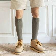 2021 зима harajuk сжатия хлопковые носки мужские новые осенние