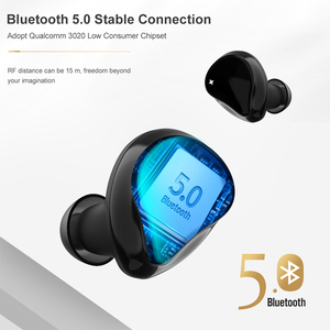 Image 2 - ใหม่ APTX หูฟังไร้สาย True TWS Bluetooth 5.0ชุดหูฟัง CVC 8.0การตัดเสียงรบกวน HD หูฟังพร้อมไมโครโฟน QCC3020