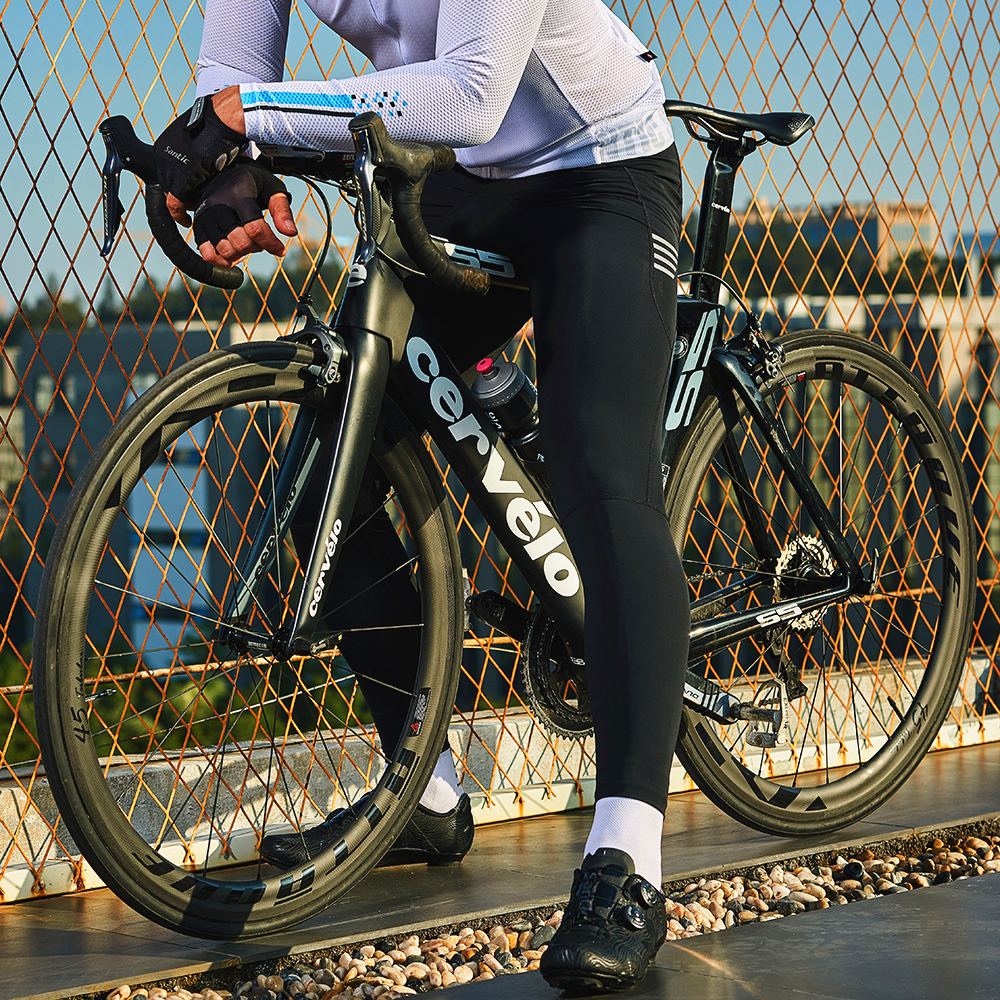Santic Men Cycling Pants Summer Pants With Coolmax Padded  Pantalones MTB Shackproof Bike Riding MTB Trousers Bottoms K9MD092H