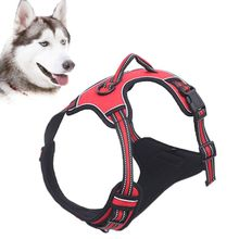 Pet Dog Puppy Cat Harness Vest Adjustable Breathable Mesh Chest Collar for Small Medium Large Dogs breathable small dog pet harness and leash set puppy cat vest harness collar for small medium dogs cute safety pet chest straps
