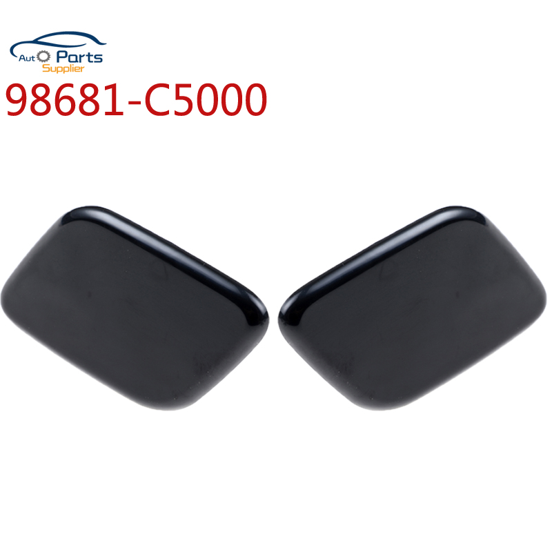 98681-C5000 98691-C5000 Front bumper <font><b>headlamp</b></font> Headlight <font><b>Washer</b></font> <font><b>Cover</b></font> Cap For KIA Sorento 2015 2016 image