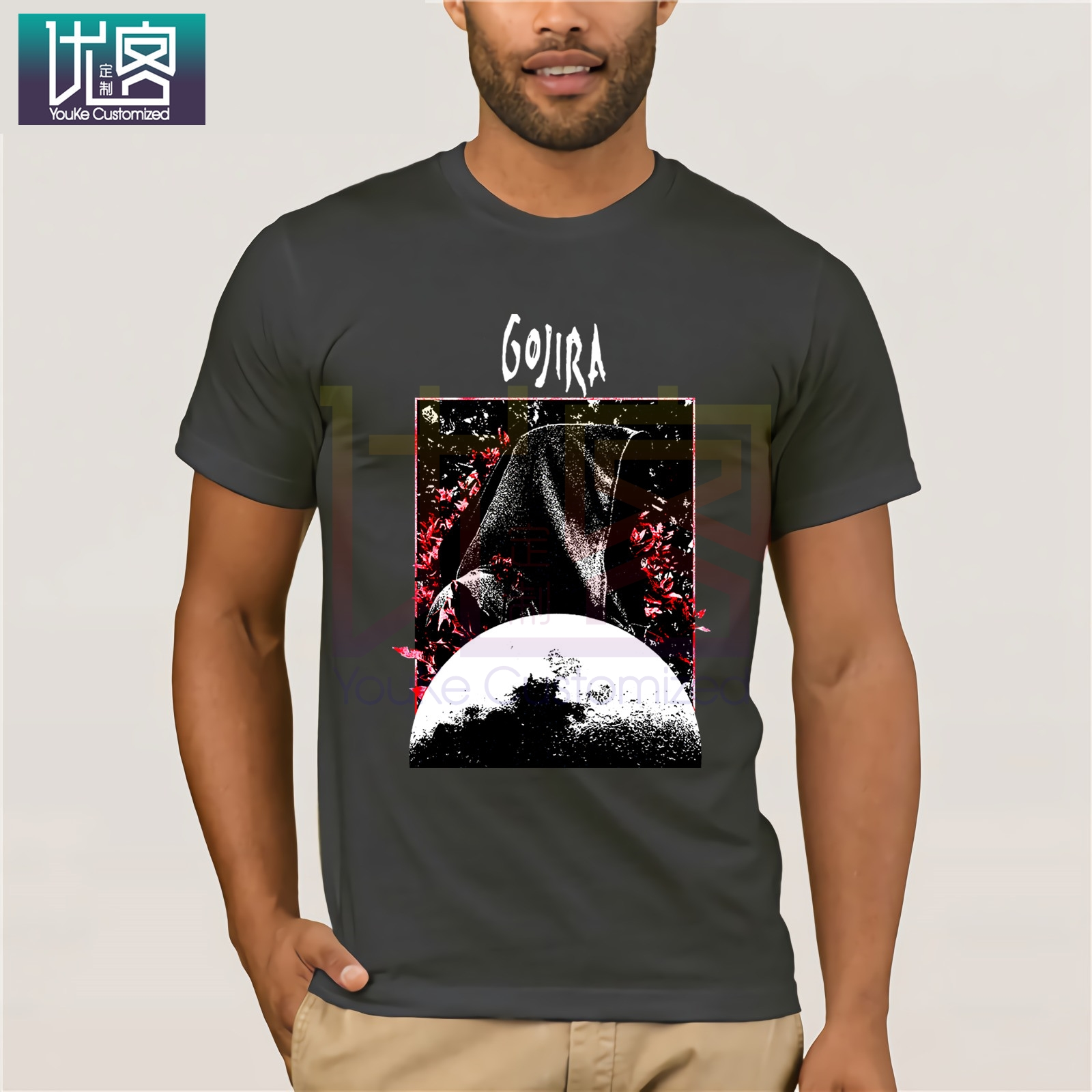 T-Shirt Grim Moon \m//-\m// Gojira