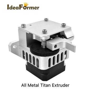 3D printer parts All metal Upgraded version Titan Aero Extruder 1.75mm for both Direct Drive Bowden Prusa i3 MK2 3D printer 3d printer parts cyclops 2 in 1 out 2 colors hotend 0 4 1 75mm 12v 24v fan bowden with titan bulldog extruder multi color nozzle