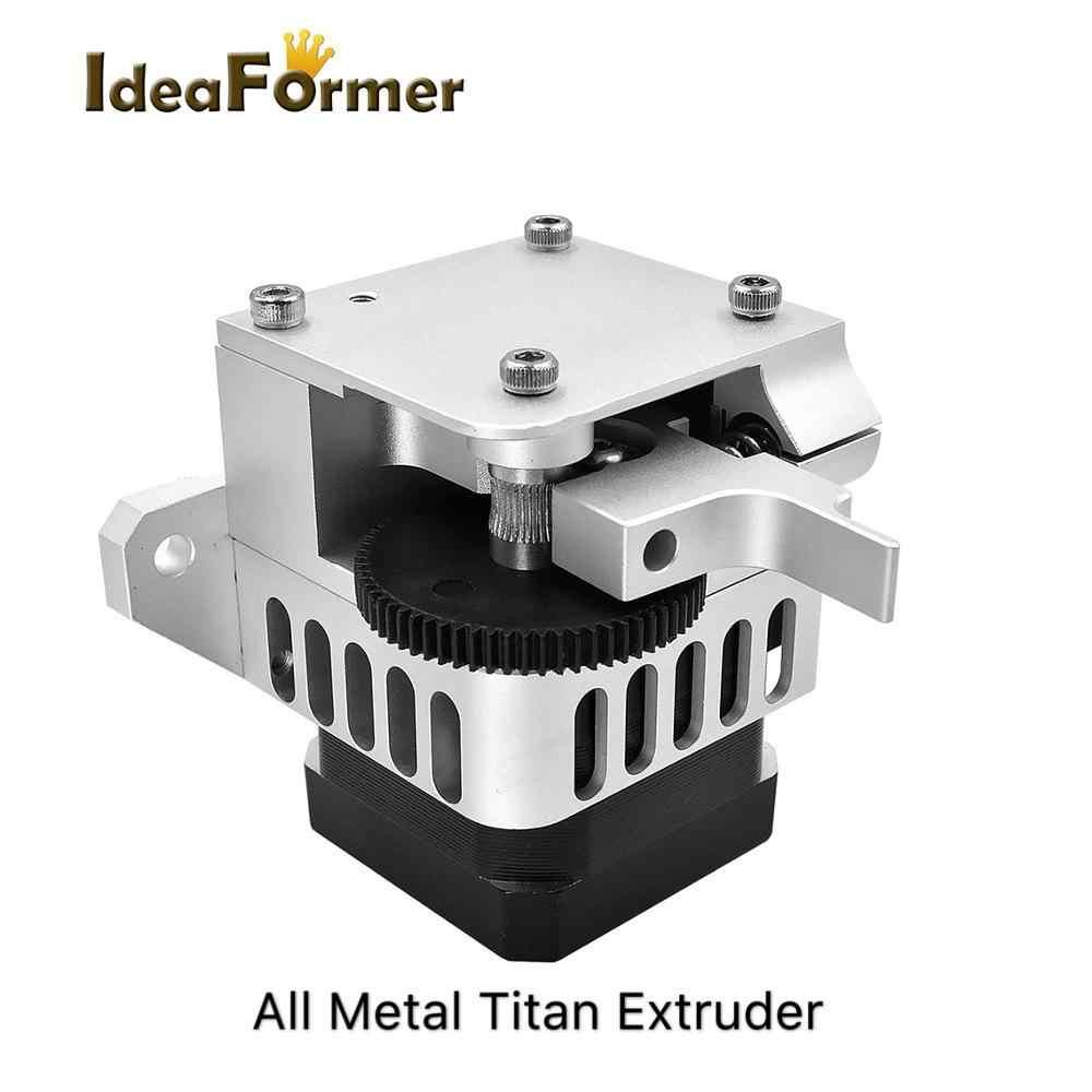 Peças para impressora 3d, versão atualizada titan aero extrusora 1.75mm para unidade direta bowden prusa i3 mk2 impressora 3d,