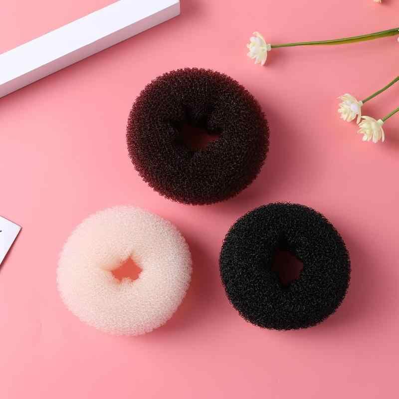 Thời Trang Tóc Bun Máy Làm Bánh Donut Mút Xốp Dễ Dàng Vòng Lớn Dụng Cụ Tạo Kiểu Tóc Kiểu Tóc Phụ Kiện Tóc Cho Bé Gái Cho Nữ