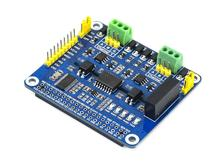 2-CH RS485 HAT Designed for Raspberry Pi SC16IS752+SP3485 solution with embedded protection circuits stability/reliabilitysafety