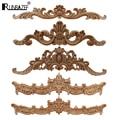 RUNBAZEF, европейская резьба по дереву для дома, оптовая продажа, многофункциональные дверные шкафы, деревянная аппликация, декоративные длинн...