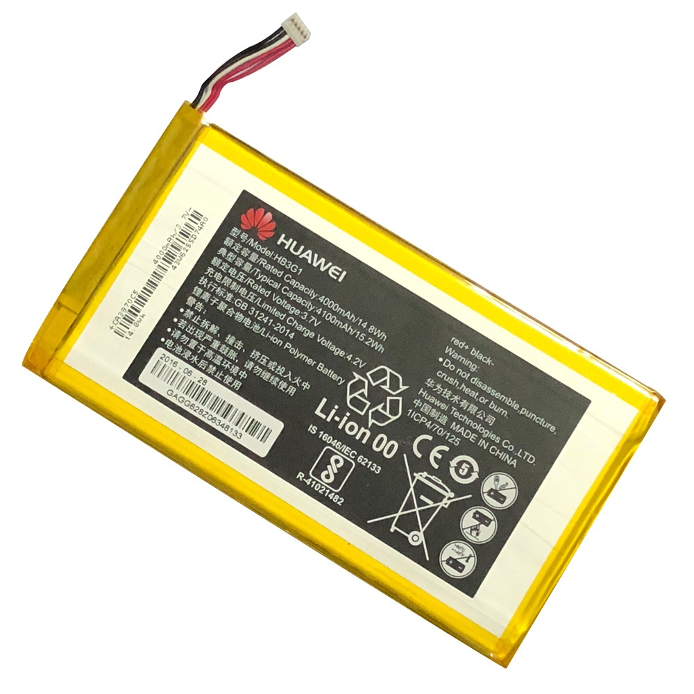 3.7V 4000mAh HB3G1 Tablet Lithium Battery For HUAWEI MediaPad T1 7.0 701 T1-701 701U T1-701U 701UA T1-701UA T1-701W Battery