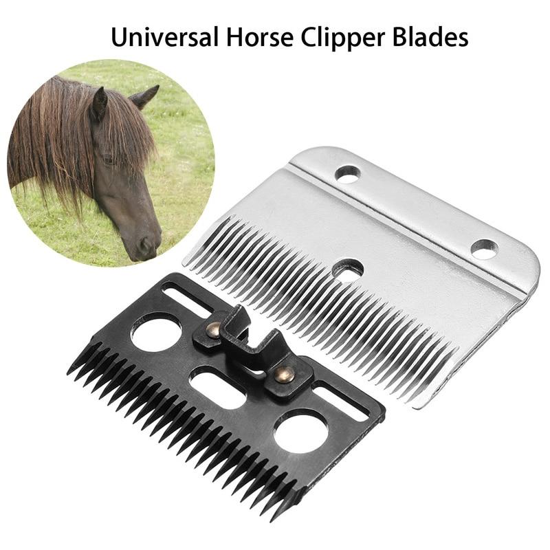 2 Pcs Medium Horse Hair Clipper Cutter Clipping Compatible Wolseley Liscop Liveryman  ENA88