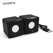Mini USB Wired Speaker Music Player Amplifier Loudspeaker Stereo Sound Box for Computer Desktop PC Notebook