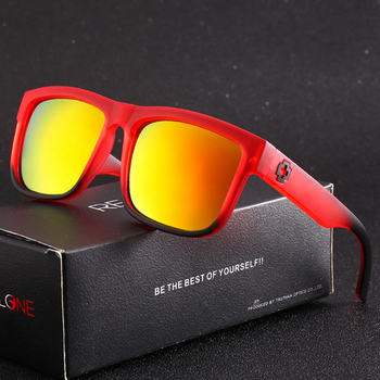 Classic Sport Vintage Mirror Square Sunglasses - UV400 1