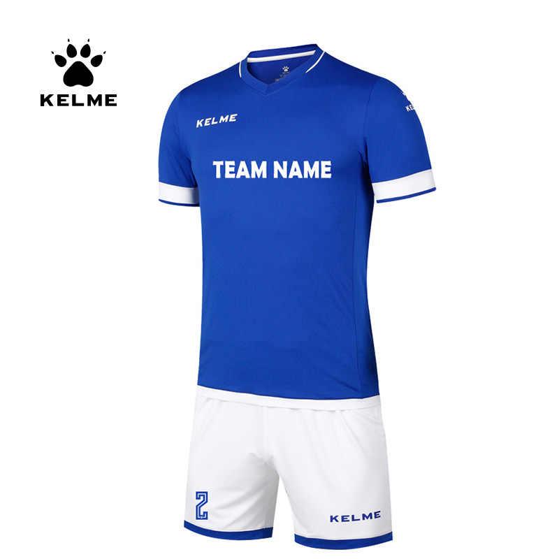 KELME niestandardowe męskie piłkarskie koszulki piłkarskie