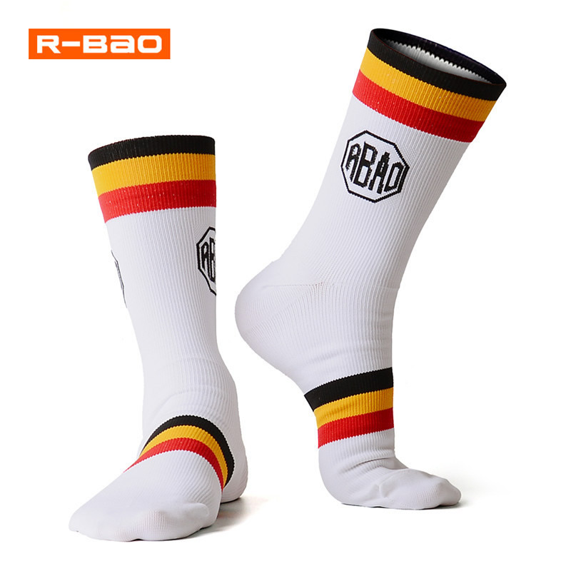 Unisex Wear-resistant Cycling Socks Absorption Sweat Quick-dry Professional Basketball Bicycle Outdoor Sports Socks Breathable