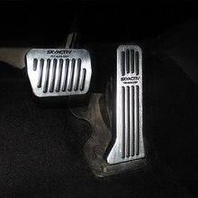 Acelerador do carro pedal de embreagem freio apoio para os pés pedais placa capa para mazda 3 6 bl bm gj cx5 ke kf cx3 cx9 axela atenza acessórios