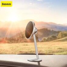 Baseus manyetik araç telefonu tutucu araç tipi mıknatıs tutucu 360 derece dönen araç tutucu evrensel telefon standı 3M çıkartmalar ile
