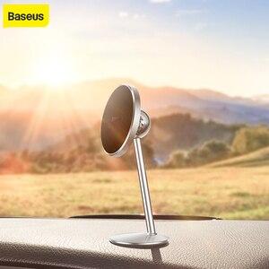 Image 1 - Baseus support de téléphone magnétique pour voiture support magnétique de voiture voiture rotative à 360 degrés support de support de téléphone universel avec 3m autocollants