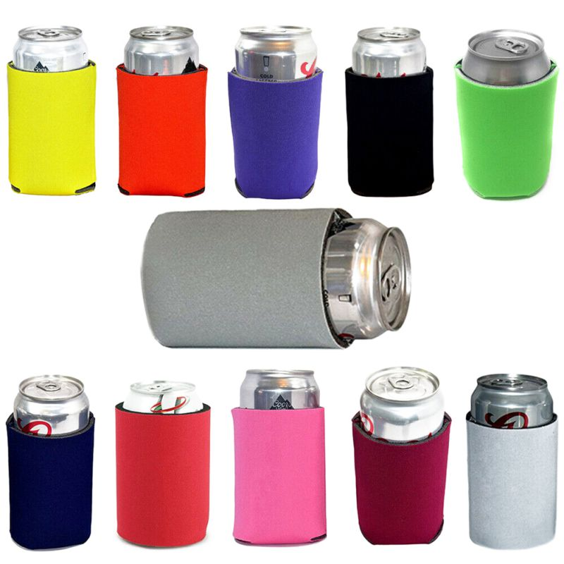 1 PCS Neoprene Cooling Beer Can Cover Drinks Bottle Tin Cooler Sleeve Holder Outdoor Tools