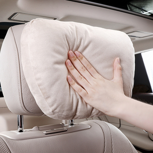 Image 2 - Top Quality Car Headrest Neck Support Seat / Maybach Design S Class Soft Universal Adjustable Car Pillow Neck Rest Cushion
