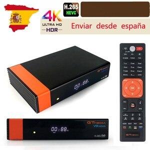 Image 1 - Gtmedia V8 NOVA DVB S2  HD TV Tuner built in WIFI from Freesat Super TV Receiver Receptor H.265 for 7 cline  Spain tv decoder