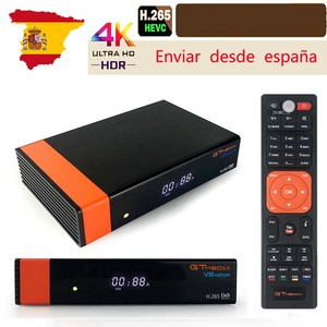 Image 1 - Gtmedia V8 NOVA DVB S2 HD TV Tuner gebaut in WIFI von Freesat Super TV Empfänger Rezeptor H.265 für 7 cline Spanien tv decoder