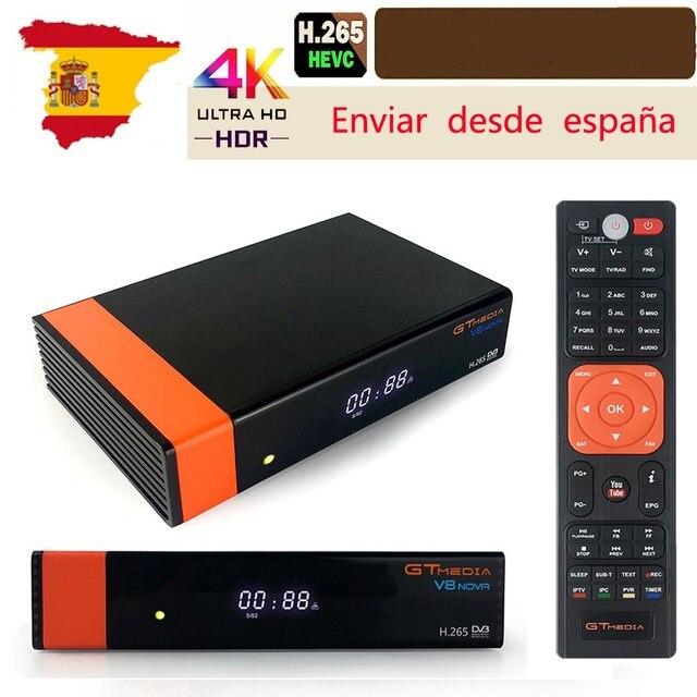 Gtmedia V8 NOVA DVB S2 HD TV Tuner gebaut in WIFI von Freesat Super TV Empfänger Rezeptor H.265 für 7 cline Spanien tv decoder
