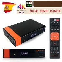 Gtmedia V8 Nova DVB S2 Hd Tv Tuner Ingebouwde Wifi Van Freesat Super Tv Ontvanger Receptor H.265 Voor 7 cline Spanje Tv Decoder