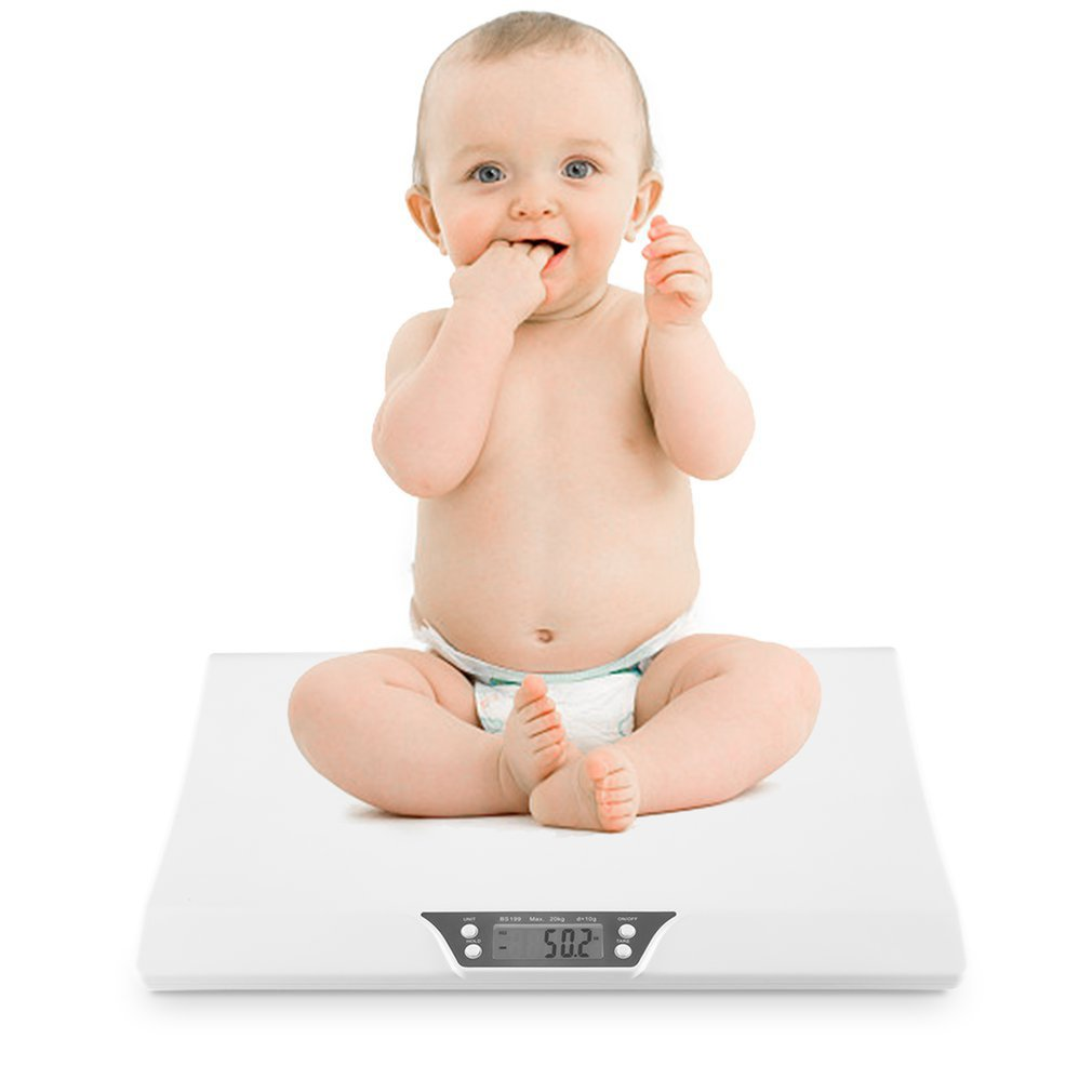 Balances électroniques de bébé du ménage 20KG Mini balances d'animal familier bébé de haute précision pesant des balances électroniques intelligentes de bébé