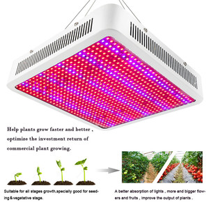 Image 4 - Светодиодный светильник полного спектра для выращивания растений, 20 Вт ~ 1600 Вт