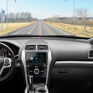 Image 2 - Podofo 2 din Android 8.1 Radio GPS Car Multimedia Player 2Din universale per Toyota VIOS CROWN CAMRY HIACE PREVIA COROLLA RAV4