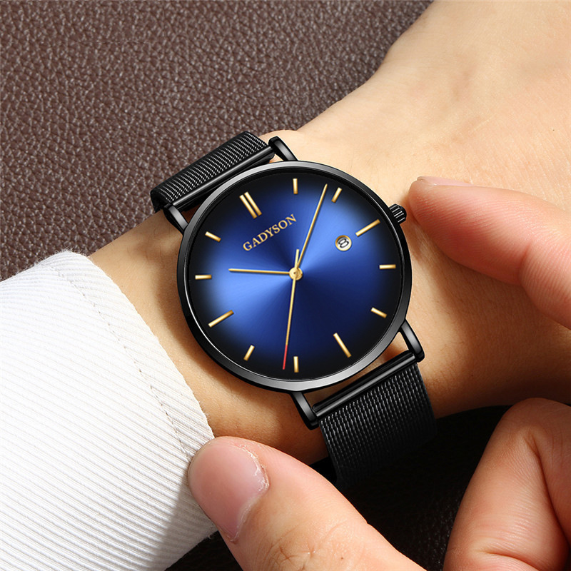 Watches Man 2019 Men Business Quartz Watches Top Famous Luxury Brand Male Clock Steel Classic Wrist Watches For Men Wristwatches