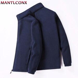 Image 3 - MANTLCONX M 9XL Fleece Jacke Männer Große Größe Jacke Mantel Männer Oberbekleidung Große Größe Im Freien Warme Jacken und Mäntel für Männer winter