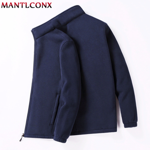 Image 3 - MANTLCONX M 9XL Fleece Jacket Men Large Size Jacket Coat Men Outerwear Big Size Outdoor Warm Jackets and Coats for Men Winter