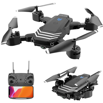 Mini RC Drone With 4K HD Camera Wifi Fpv Foldable Dron  Professional RC Helicopter Selfie Drones Toys For Kid RC Quadcopter цена 2017