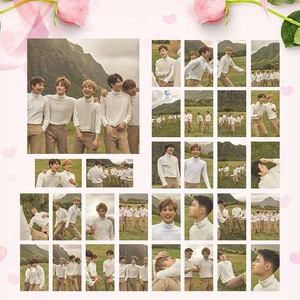 30pcs/set KPOP EXO Hawaii Photobook Album Self Made Paper Lomo Card Photo Card Poster HD Photocard Fans Collection(China)