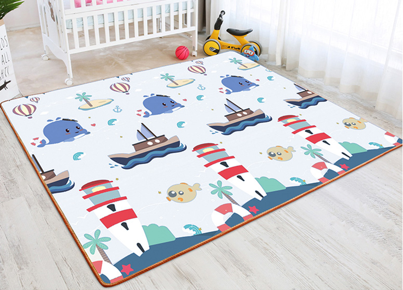 H18cf63d3335c47e6b2b6abc2911c9521I New Baby Crawling Mat Thick Living Room Children's Home Foam Animals Play Mat Moisture-proof Game Gym Rug Kids Carpet