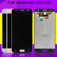 HH Original J3 2017 Lcd For Samsung Galaxy J330 Lcd J3 Display 2017 With Touch Panel Screen Digitizer Assembly Free Shipping 2pcs black lcd for samsung galaxy s i9000 lcd touch screen display with digitizer full assembly free shipping tracking no