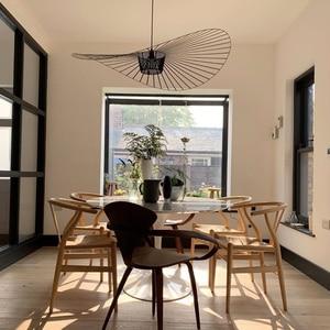Modern LED vertigo Restaurant pendant lamp suspension E27 luminaire for Dining table living room bedroom Restaurant lampe lustre(China)