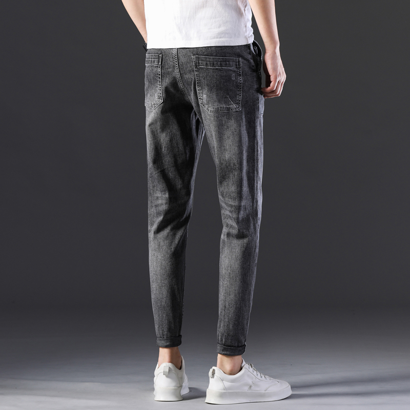 KSTUN Stretch Jeans Men Skinny Gray 2020 New Arrivals Man Long Trousers Slim Fit Cowboys Mens Jeans Fashion Designer Tapered 16