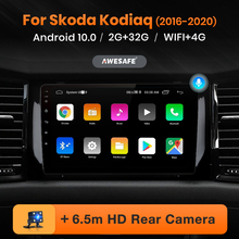 AWESAFE PX9 Car Radio for Skoda Kodiaq 2016-2020 Multimedia Player 2 Din Android 10 Autoradio