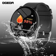 2019 OGEDA New Men smart watch Waterproof Heart rate health monitoring multi-sports mode Bluetooth OTA upgrade reloj inteligente