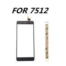 Nieuwe 5.5inch Voor Prestigio Muze E7 LTE PSP7512 DUO touch Screen Glas sensor panel lens glas vervanging voor PSP7512 mobiele telefoon