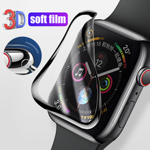 waterproof screen protector for apple watch case SE 6 5 4 3 38MM 40MM 44MM 42MM Not Tempered glass film for iwatch 1 2 cover cheap ARMED CN(Origin) Easy to Install for apple watch series 1 2 3 4 5 PET + PMMA