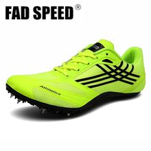 Men Track Field Shoes Women Spikes Sneakers Athlete Running Training Shoes light Match Shoes Sneakers Unisex shoes 45
