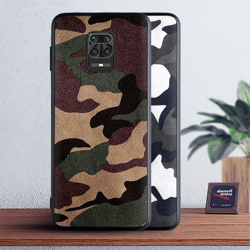 Camouflage Leather Case For Xiaomi Redmi Note 9S 9 Pro 8T 8 7 6 5 Pro 5A 4 4X K30 K20 Pro 8 8A 7 7A 6 6A 5 Plus 5A 4X S2 Case