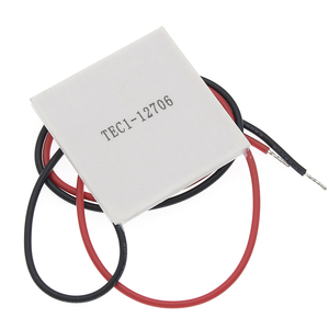 Image 3 - 50pcs 100% New the cheapest price TEC1 12706 TEC 1 12706 57.2W 15.2V TEC Thermoelectric Cooler Peltier (TEC1 12706)